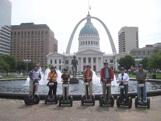 fun things to do in st louis segway tours may 16th 2009 am. Black Bedroom Furniture Sets. Home Design Ideas
